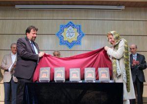 رونمایی از کتاب «ادبیات پهلوی» توسط دکتر ژاله آموزگار و پروفسور کارلو چرتی