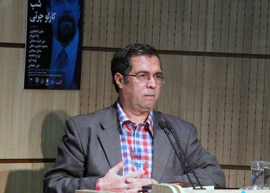 علی دهباشی از پژوهش های ایرانشناسی پروفسور چرتی سخن گفت