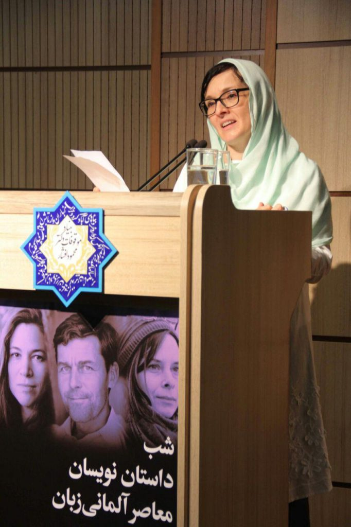 گابریل یوئن معاون سفیر و رئیس انجمن فرهنگی اتریش در تهران
