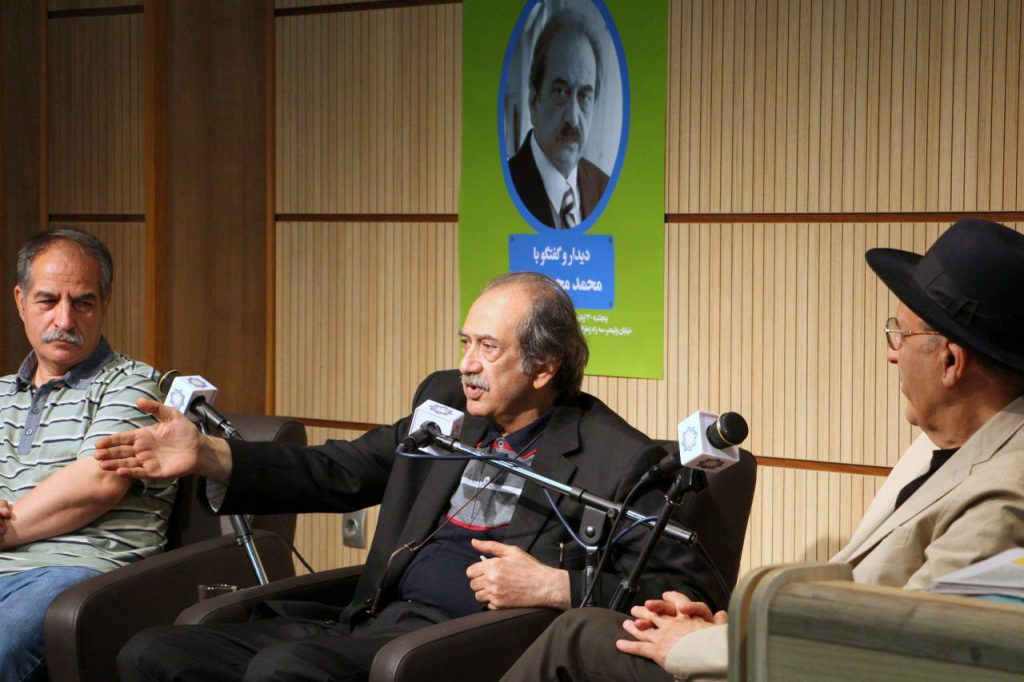 دکتر حواد مجابی، محمد محمدعلی و اسدالله امرایی