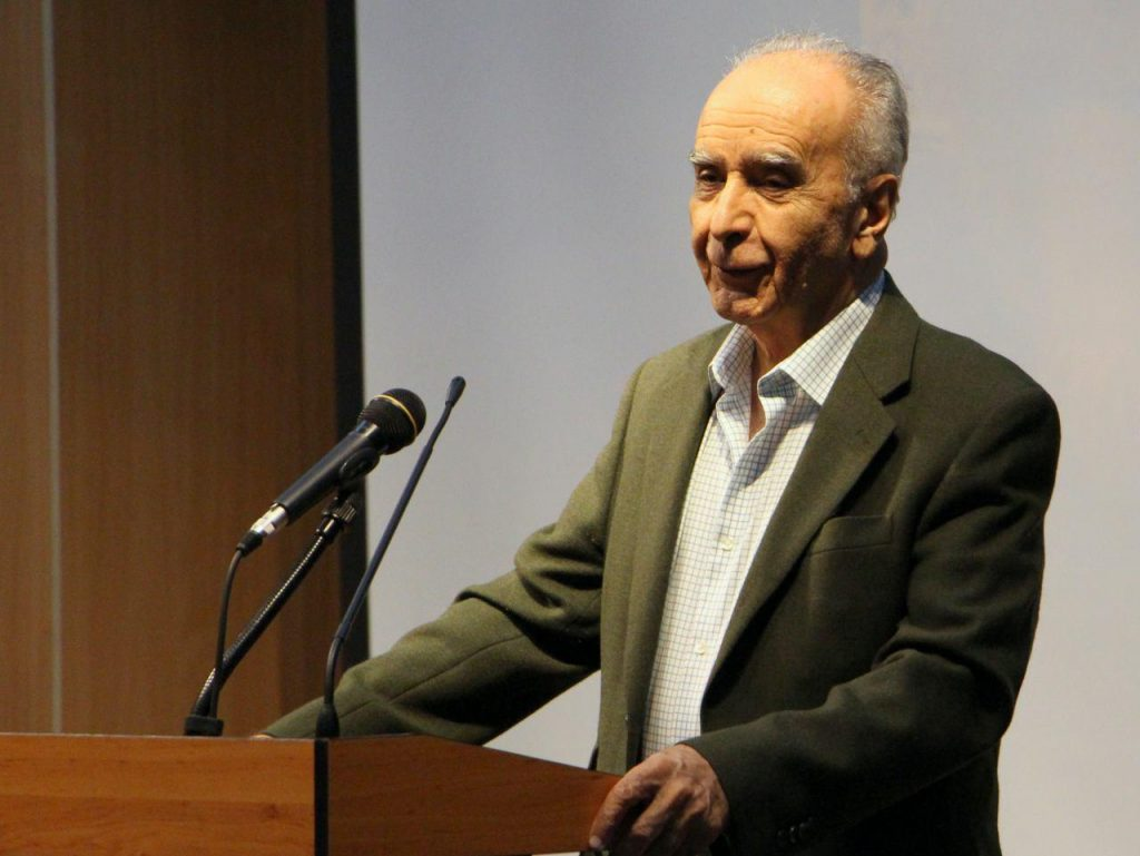 دکتر محمد استعلامی ـ عکس از مریم اسلوبی