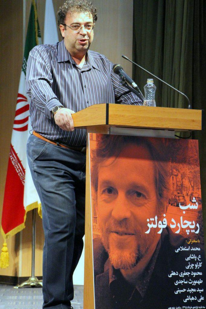 دکتر مهرداد ملک زاده ـ عکس از مریم اسلوبی