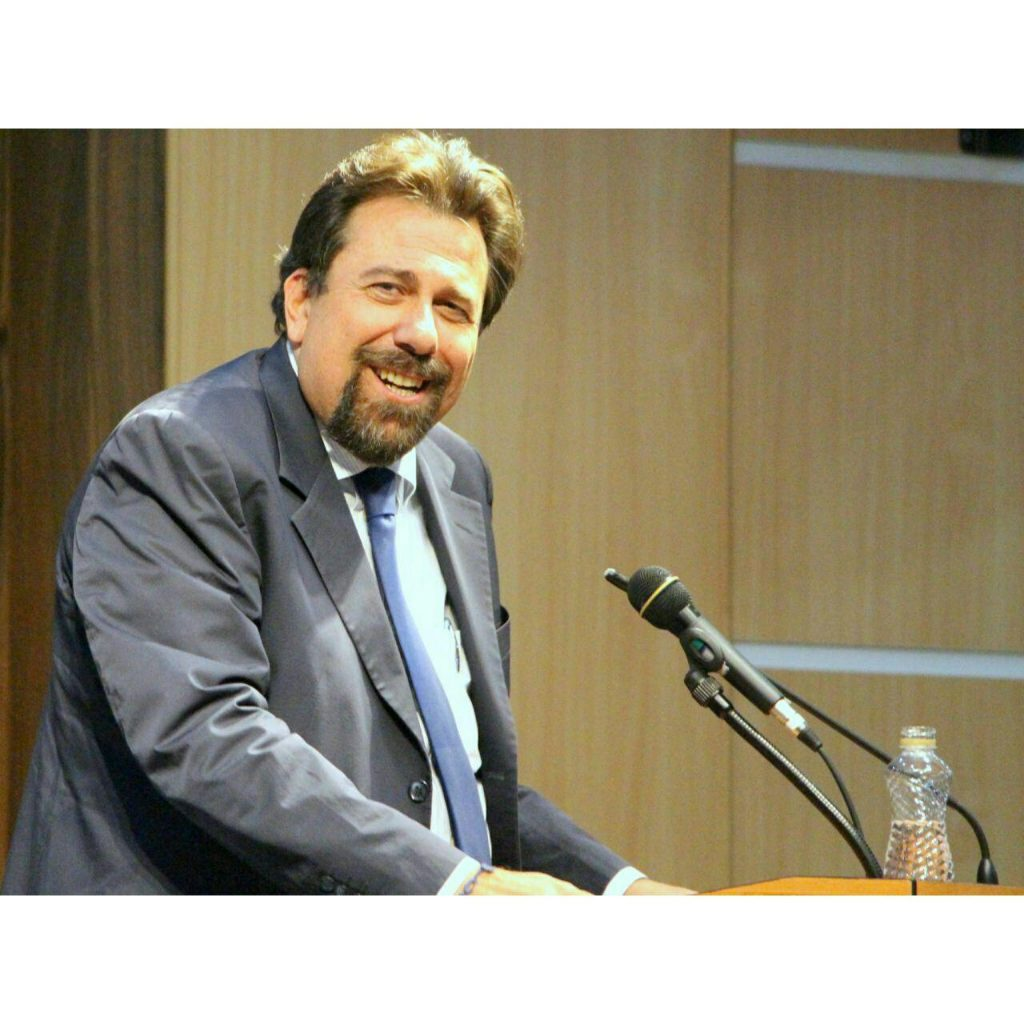 پروفسور کارلو چرتی ـ عکس از مریم اسلوبی