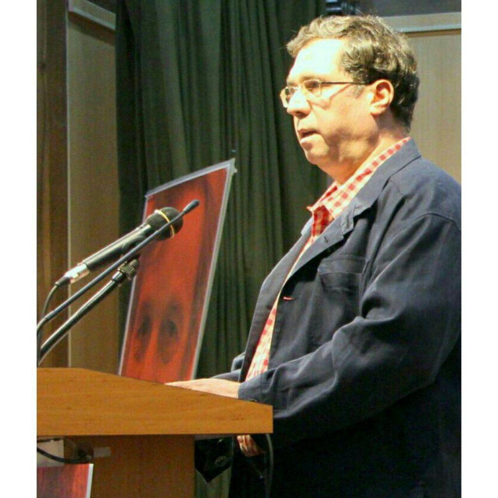 علی دهباشی از نگاه تازه ریچارد فولتز به تاریخ ایران سخن گفت ـ عکس از مریم اسلوبی