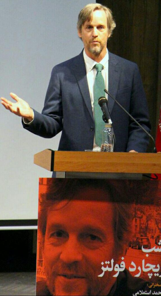 پروفسور ریچارد فولتز ـ عکس از مریم اسلوبی