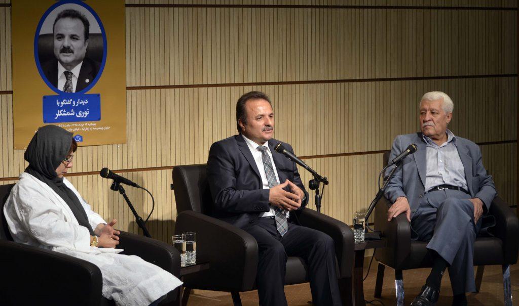 دکتر توفیق سبحانی، دکتر شمشکلر و فروزنده اربابی ـ عکس از متین خاکپور