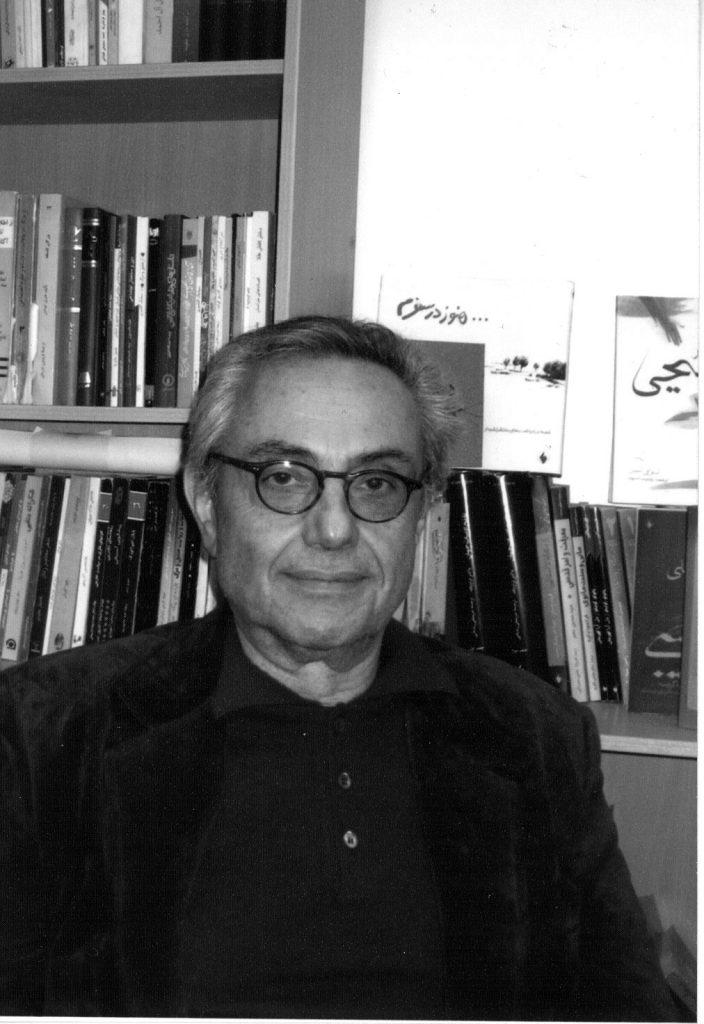 دکتر حسین ضیائی ( عکس از علی دهباشی)