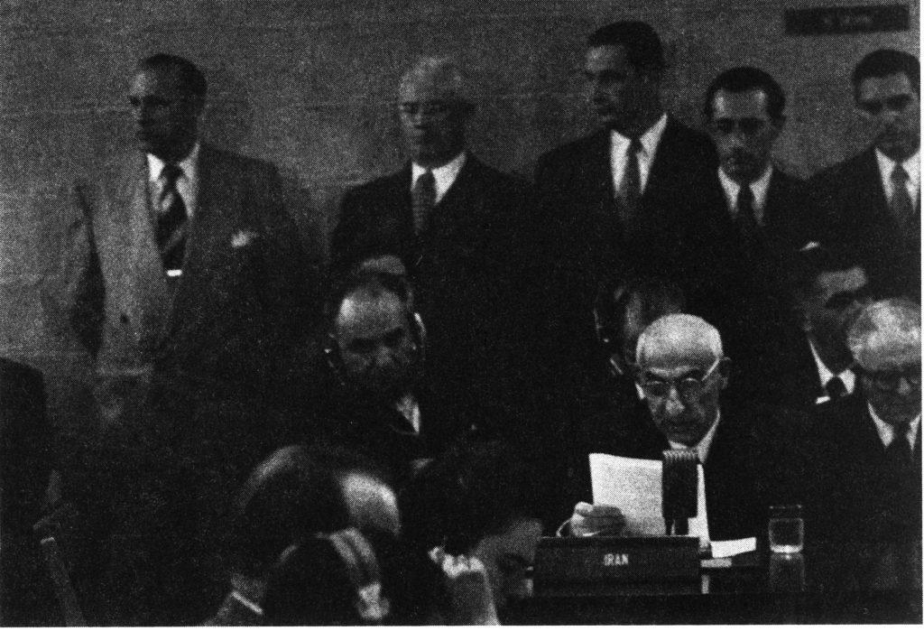 سخنرانی در جلسه افتتاحیه شورای امنیت ملل متحد ۱۵ اکتبر ۱۹۵۱