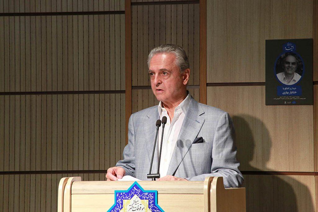 مهندس تورج اتحادیه شرحی ازمجموعه کتابهای تاریخ ایران باستان داد.