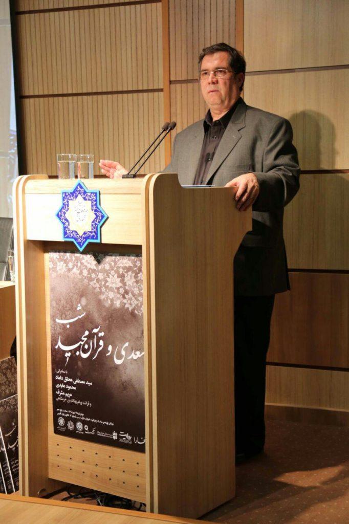 علی دهباشی از برگزاری شبهای قرآنی سخن گفت