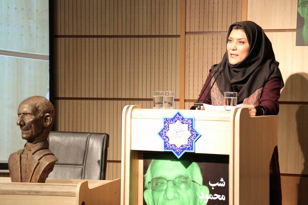 دکتر فریبا افکاری از سالهای دانشجویی در محصر استاد عبادیان سخن گفت