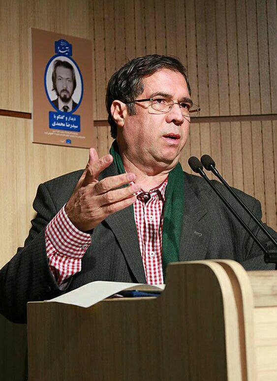علی دهباشی از سالهای اقامت سیدرضا محمدی در ایران سخن گفت