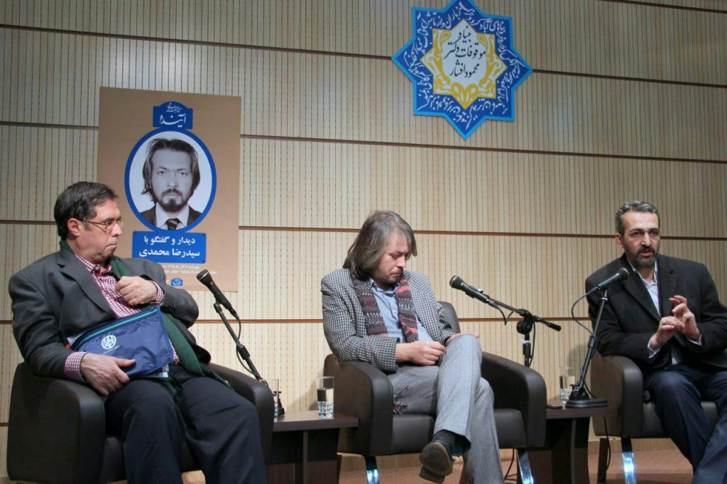 دکتر سعیدی کیاسری،سیدرضا محمودی و علی دهباشی