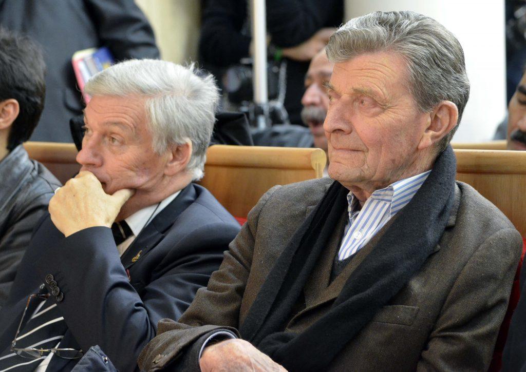 دکتر فریدون علاء در کنار ژان کلود ووآزن
