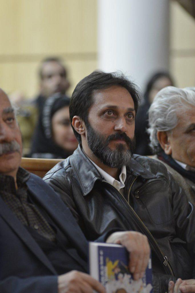 دکتر ناصر تکمیل همایون و محمودرضا بهمن پور(مدیر نشر نظر)