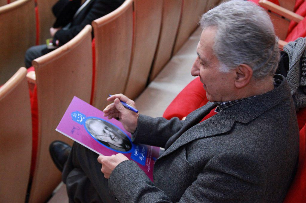 سیروس علی نژاد در کانون زبان فارسی