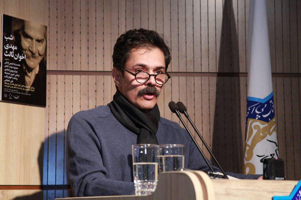 زردشت اخوان ثالث از فعالیت های انتشارات زمستان سخن گفت
