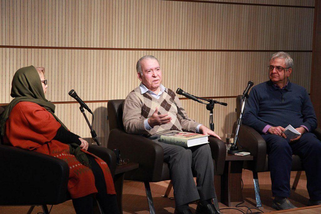 محمدتقی فرامرزی به  همراه دکتر سرمد قباد و فرزانه قوجلو