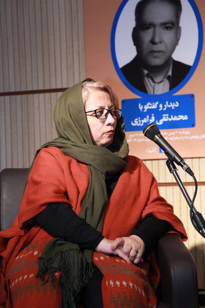 فرزانه قوجلو به محمد قاضی و ترجمه بی نظیر دن کیشوت سروانتس به زبان فارسی اشاره کرد