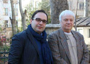 کیانوش معتمدی و پروفسور فلور