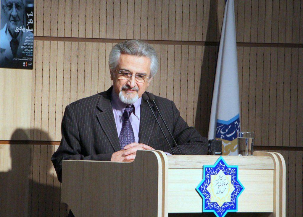 دکتر احمد جلیلی از افتخار حضور در شب دکتر مسلم بهادری سخن گفت