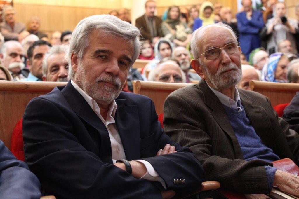 دکتر جزایری و دکتر محمد علی موحد