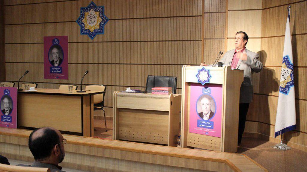 علی دهباشی از صنعت چاپ و نقش استاد دمیرچی گفت
