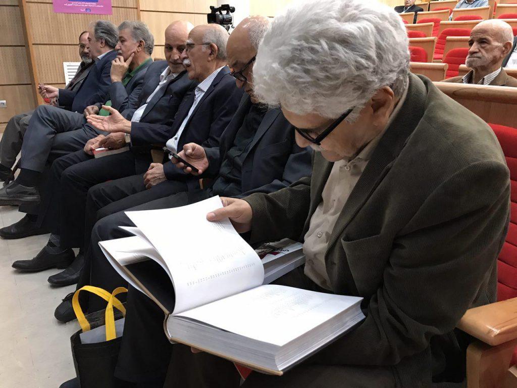 هارون یشایائی در دیدار و گفتگو با اسمعیل دمیرچی