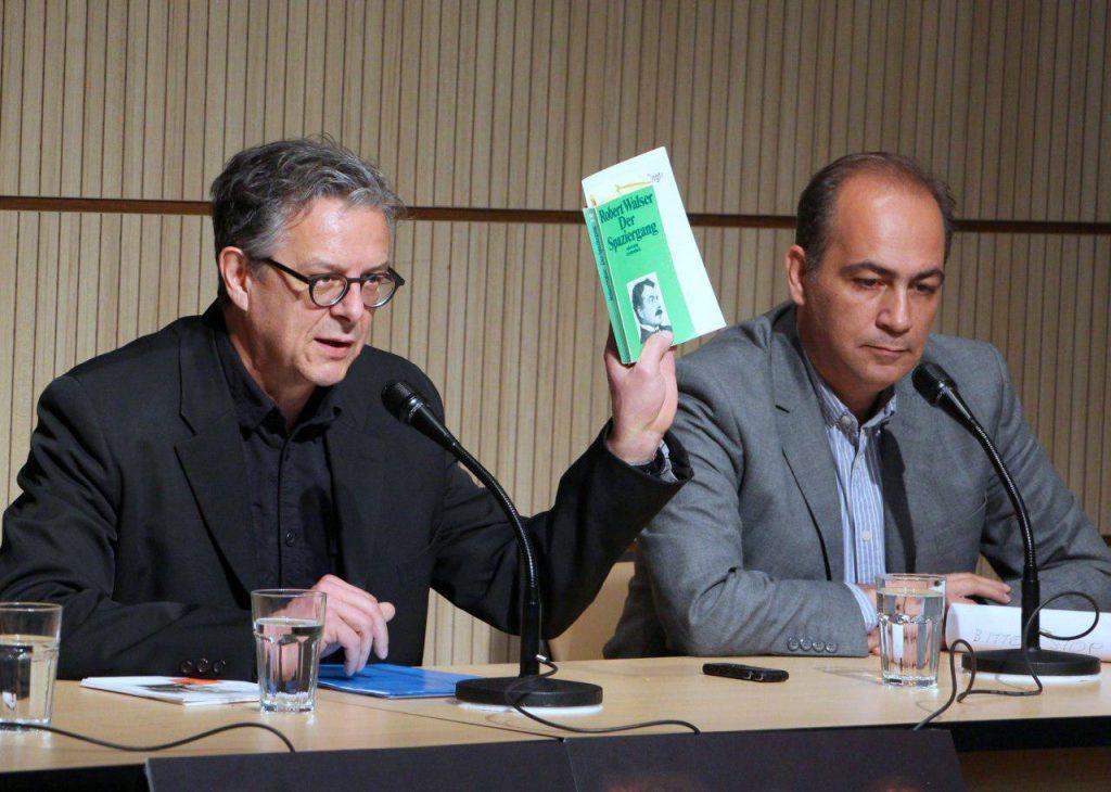 رتو سورگ از رابرت والسر، نویسنده سوییسی سخن گفت