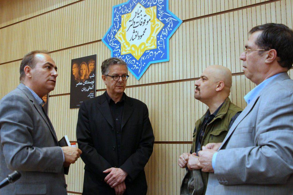 علی دهباشی، مهرداد اسکویی، رتو سورگ و دکتر سعید فیروزآبادی