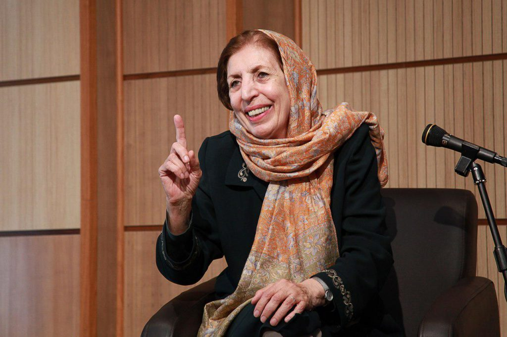 دکتر ژاله آموزگار از هویت ملی ایرانیان و فرهنگ فردوسی سخن گفت