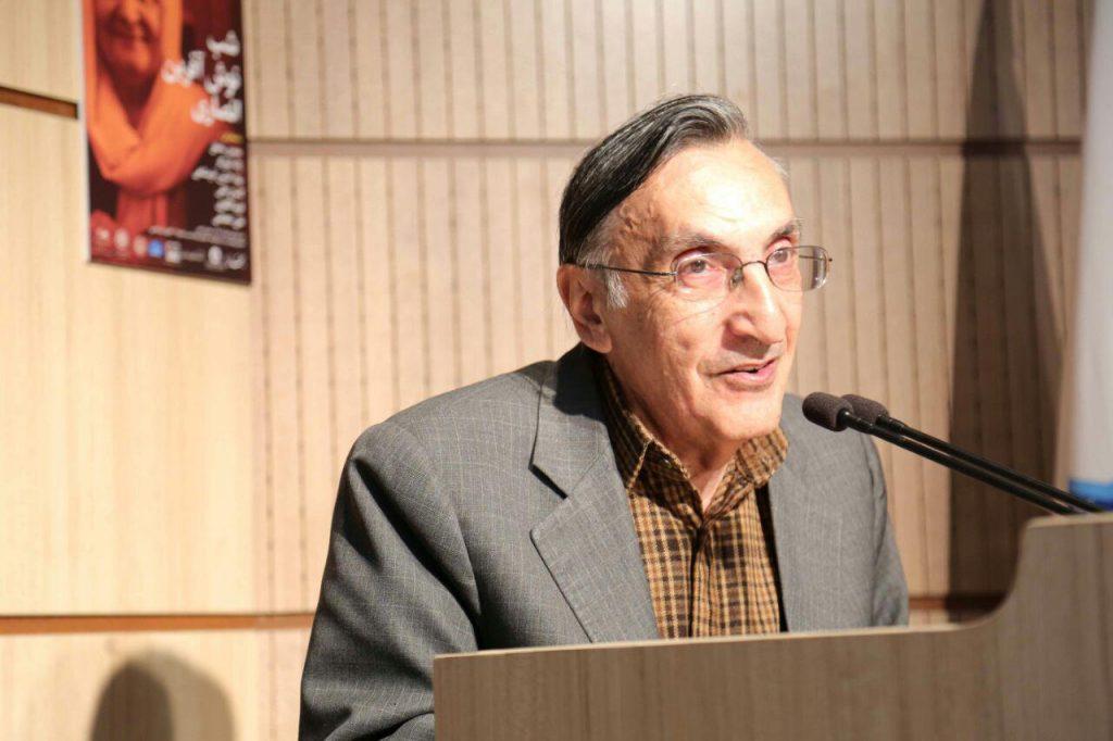 استاد کامران فانی از اولین خاطره آشنایی با دکتر نوش آفرین انصاری سخن گفت