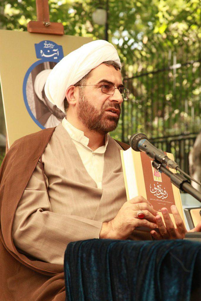 دکتر رسول چعفریان در باغ موقوفات دکتر محمود افشار
