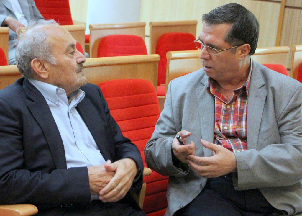 علی دهباشی و دکتر کاظم موسوی بچنوردی