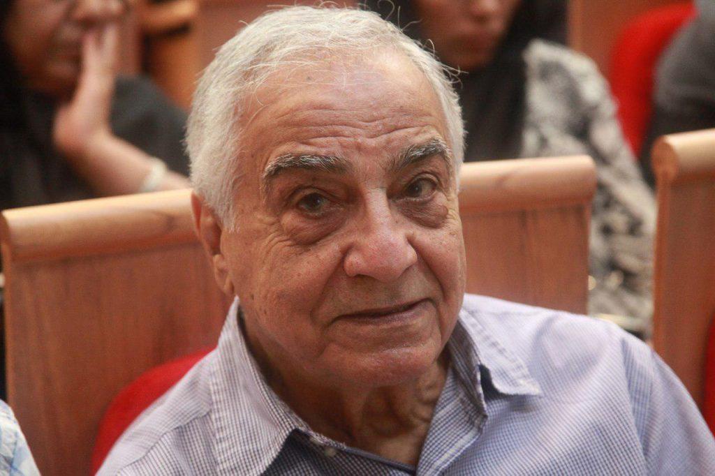 صفدر تقی زاده در شب محمد زهرایی