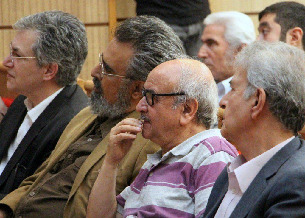 دکتر اصغر دادبه، دکتر محمدرضا شفیعی کدکنی و دکتر پروین گنابادی