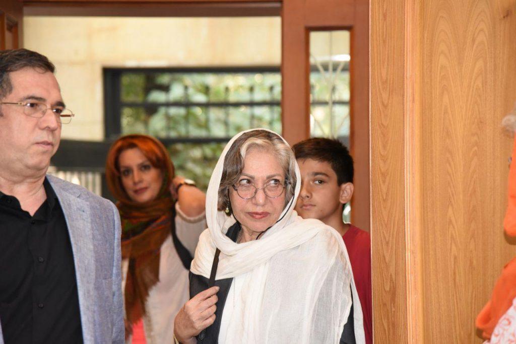 رخشان بنی اعتماد به همراه علی دهباشی در کانون زبان فارسی