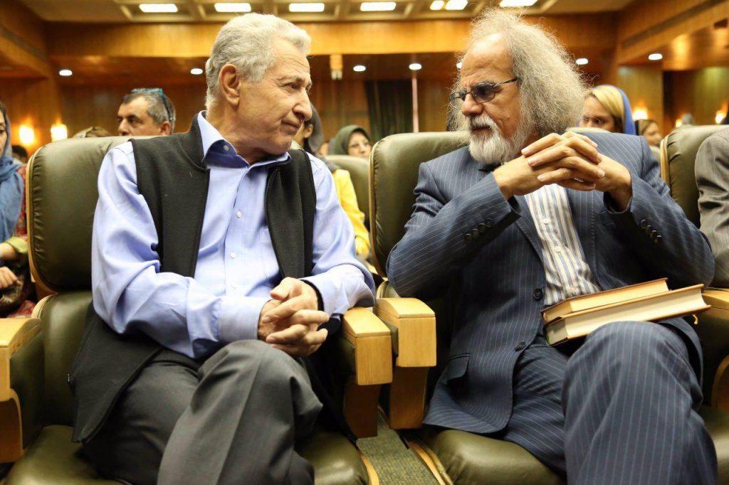 دکتر مصطفی ملکیان و سیروس علی نژاد
