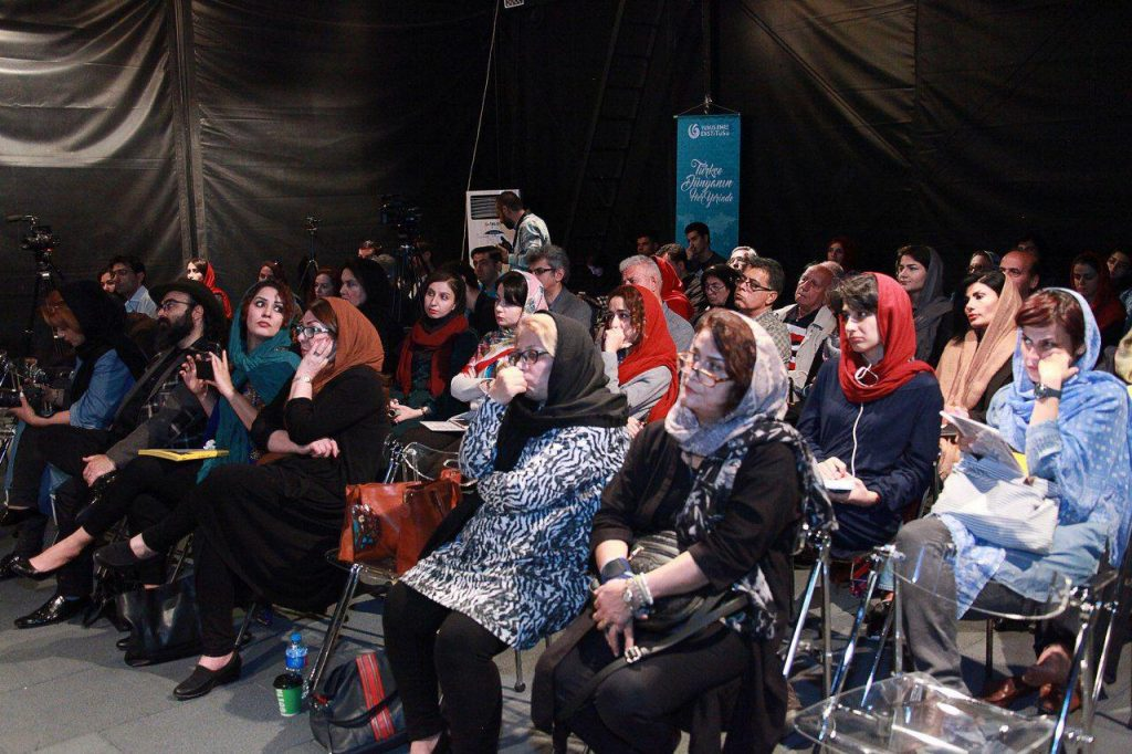 نمایی از شب شاعران ایران و ترکیه