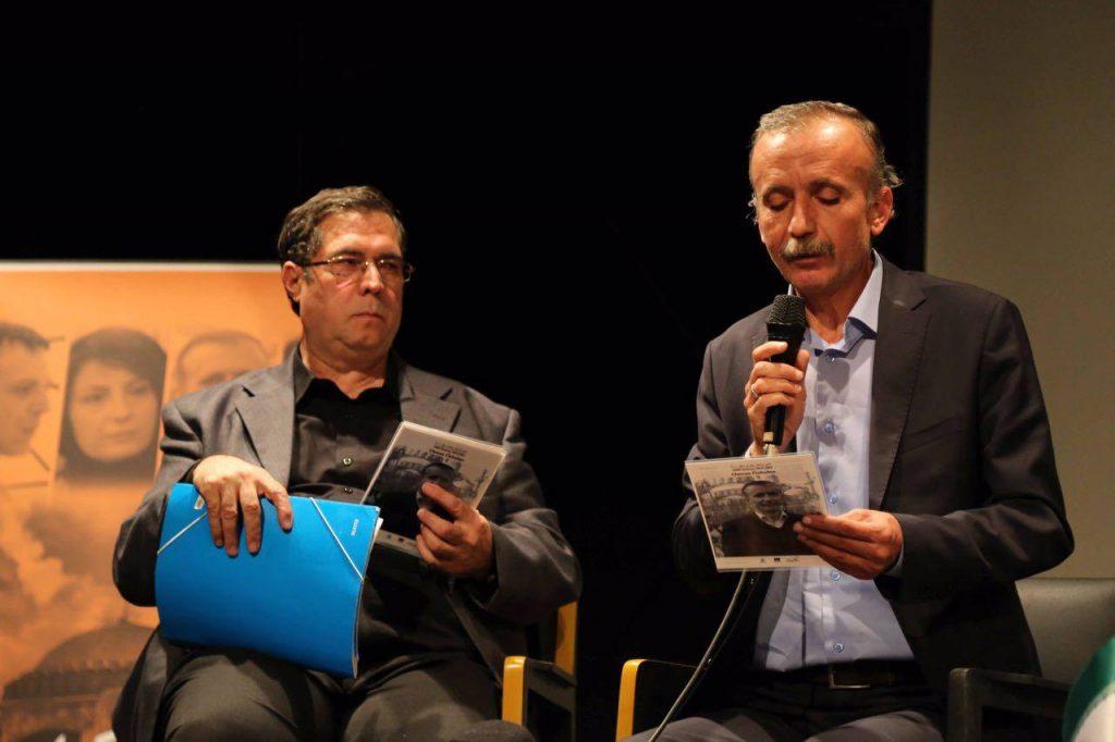 عثمان اوزباغچه یکی از اشعار خود را خواند