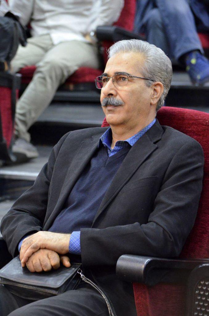 مسعود محرابی، مدیر مجله فیلم، در شب حسین شهیدی