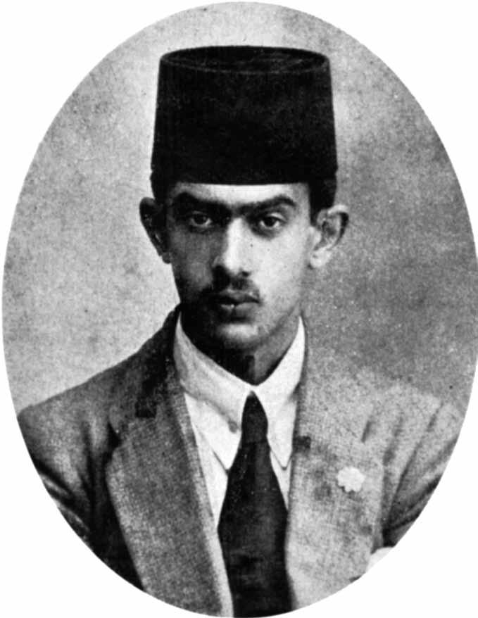 سعید نفیسی در جوانی
