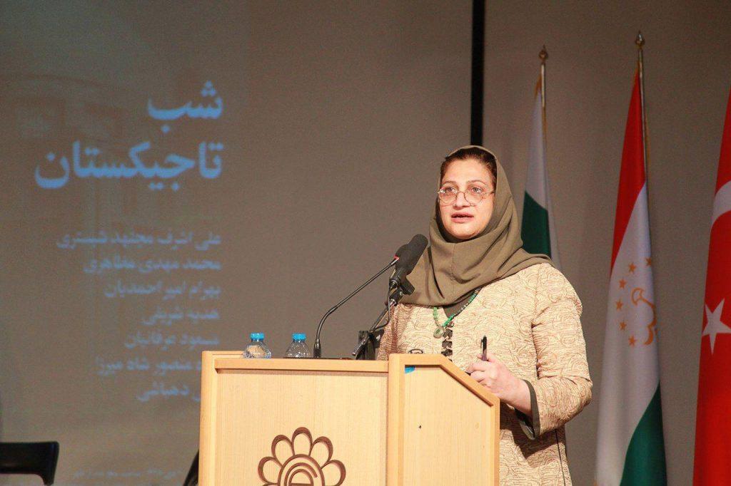 دکتر هدیه شریفی از پژوهشهای خود درباره فرهنگ مردم تاجیک گفت.