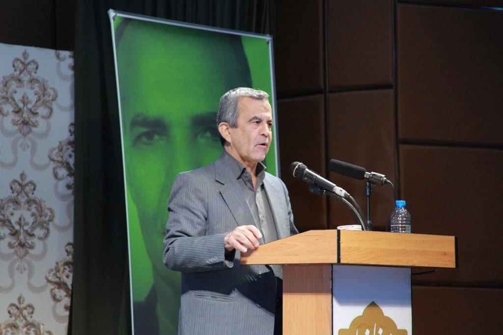 محمد علی مخلصی درباره آثار استاد قوچانی سخنرانی کرد