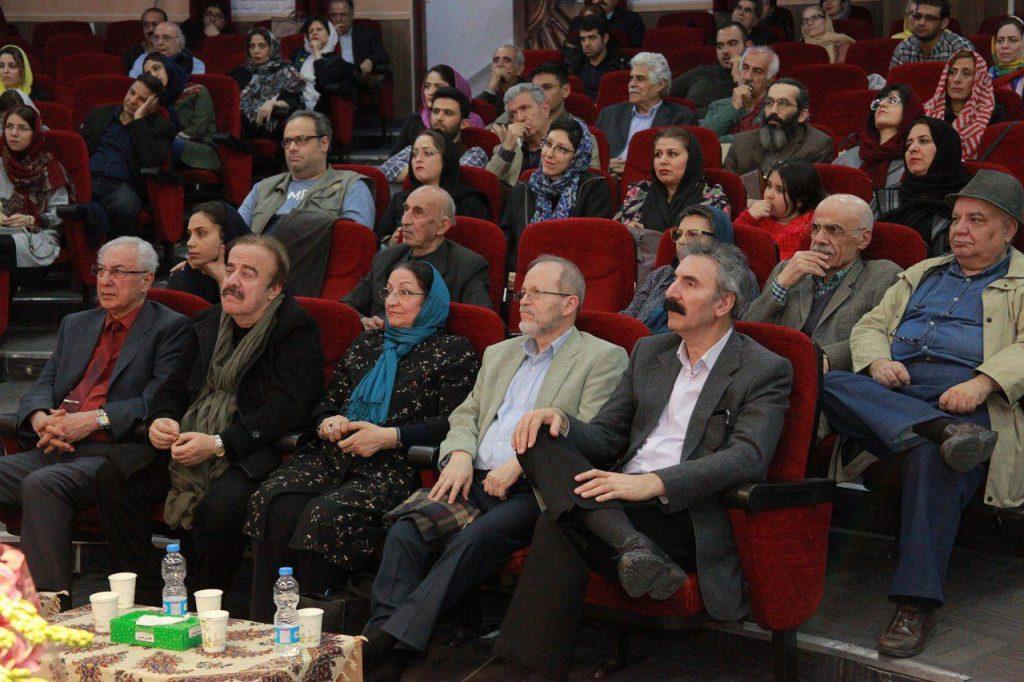 نمایی از شب چهره های موسیقی ایران
