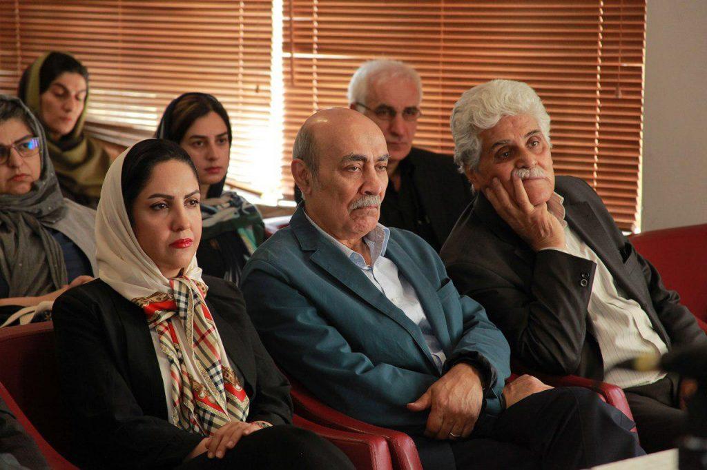 زهرا خانلو، رضا جعفری و هارون یشایایی