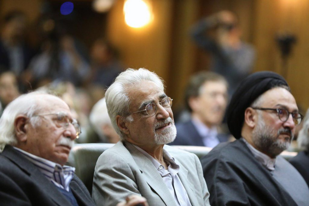 دکتر فتح الله مجتبایی، دکتر نصرالله پورجوادی و محمد ابطحی