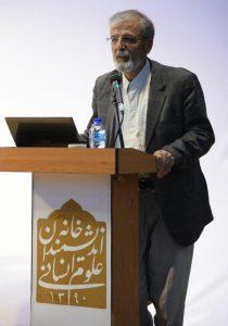 ناصر نوروززاده چگینی به کارنامۀ فعالیت های علمی دکتر خطیب شهیدی اشاره کرد