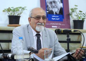 دکتر احمد محیط از جامعه امروز و علاقمندی هایش سخن گفت