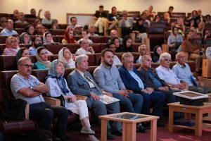 نمایی از برگزاری شب دماوند در کتابخانه ملی ایران